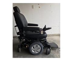 Quantum q6 edge heavy duty power wheel chair