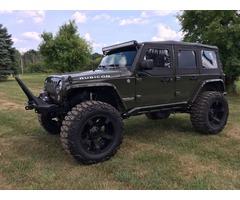 2015 Jeep Wrangler Unlimited Rubicon Sport Utility 4-Door