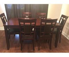 7 piece kitchen table