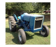 Ford 3000 propane tractor