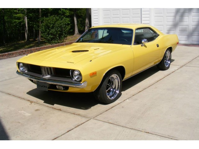 1972 Plymouth Barracuda E Body Classic Cars Alexander North