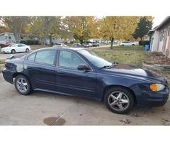 Make:Pontiac Model:Grand Year:2004 Am for sale.