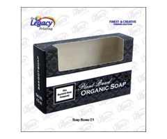 Custom Printed Soap Packaging Boxes at Wholesale Price.