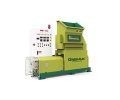 Waste foam recycling by GREENMAX MARS series densifier