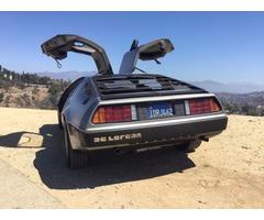 1981 DeLorean DMC-12 Original dealer applied decal