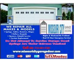 Garage Door Repair and Garage Door Installation Company Missouri City, TX