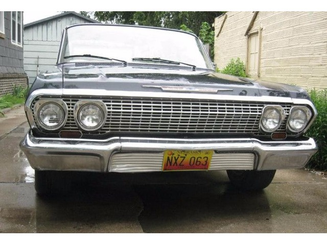 1963 Chevrolet Bel Air 2 Door Sedan Classic Cars Lincoln