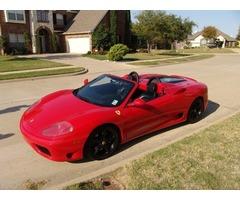 2001 Ferrari 360 F