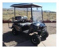 2013 GAS GOLF CART E-Z-GO SHUTTLE 2+2 .CUSHMAN 4 SEATER.