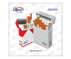 Custom Printed Cigarette Packaging Boxes Wholesale