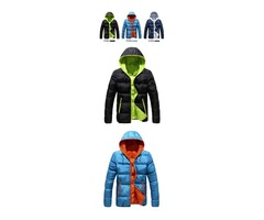 Mens Winter Jacket Hooded