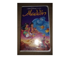 Aladdin black diamond VHS tape