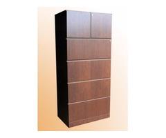 4 Drawer file cabinet w storage