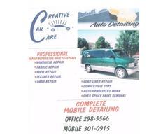 Mobile Service Auto Detailing