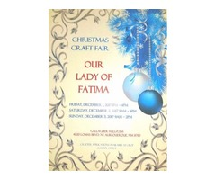 Our Lady of Fatima Christmas Craft Fair