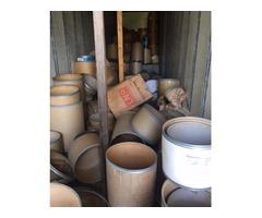 cardboard drums $1-$3 each