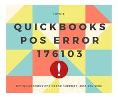 QuickBooks POS Error 176103 - Call for Support 1855-924-9508
