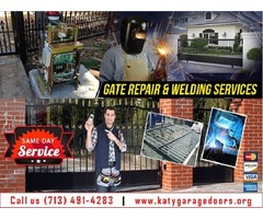 Gate & Gate Opener Repair only on starting $26.95 in Katy, TX