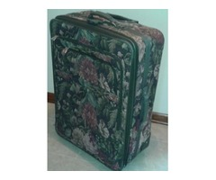 TAPESTRY FLORAL LUGGAGE SUITCASE