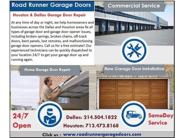 Same Day Garage Door Repair And Installation Service In Sugar Land
