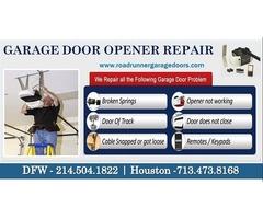 Professional Garage door opener Repair 75034, TX