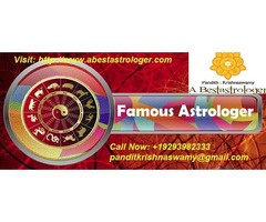 Astrologer Pandith Krishnaswamy-Famous Black Magic Expert in New York,USA