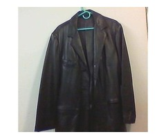 Marc NY - Long men's leather jacket