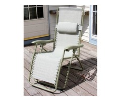 Chaise Lounge - Continuously adjustable - NEW
