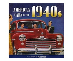 American Cars of the 1940's - NEW