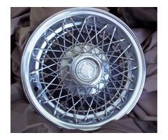 Chevrolet wire spoke wheel cover