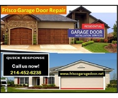 Quality New Garage Door Installation | Starting only on $26.95 | Frisco, TX