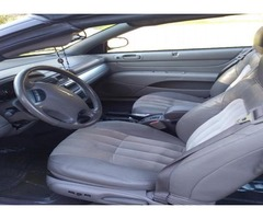 2005 Chrysler Sebring Convertable Touring