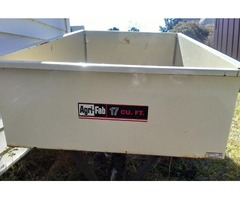 17 cubic feet trailer