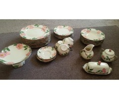 Desert Rose Dishes (41 pieces)