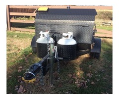 South Carolina pig cooker/smoker