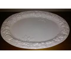 Serving Dishes - Tea Pitcher, Large Platter Server, Bowl and Bowls