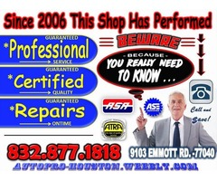 Air Conditioning Systems Certified Diagnosis and Repair