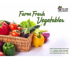 Buy Farm Fresh Vegetables & Fruits Online & Same Day Delivery - MyHomeGrocers.com
