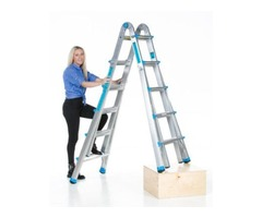 17' or 22' Telescoping Ladder