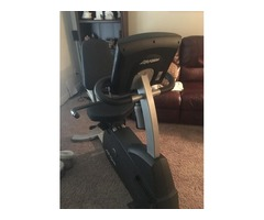 LifeCycle Recumbant Bike
