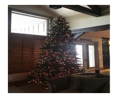 12foot artificial Christmas tree