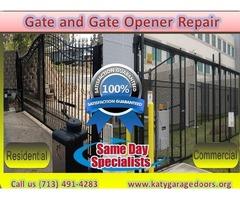 Emergency Gate & Gate Opener Repair in Katy, TX | Call us (713) 491-4283