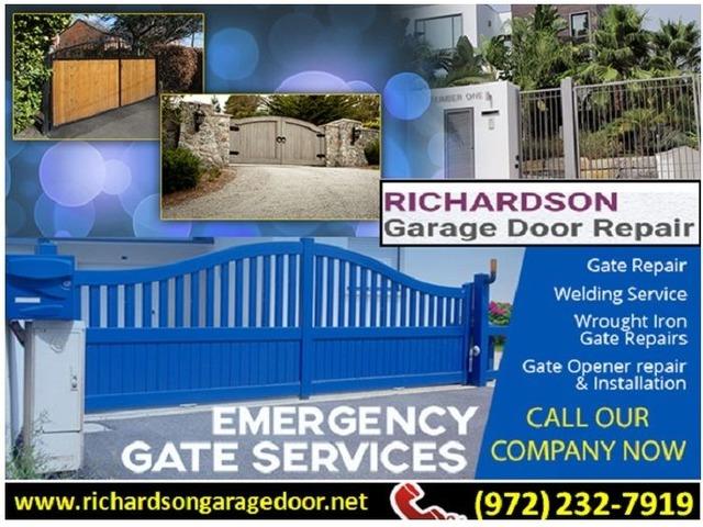 Call Us 972 232 7919 For Gate Opener Repair In Richardson Tx