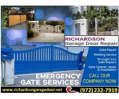 Call us (972) 232-7919 for Gate Opener Repair in Richardson, TX