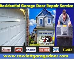 Residential Garage Door Repair Service Provider Company in Rowlett, TX