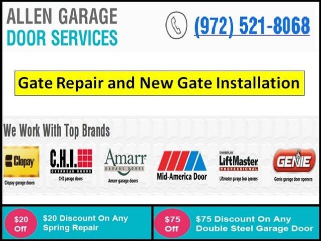 New Gate Installation In Allen Tx Call Us 9725218068 Start