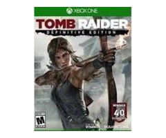 Tomb raider. edition for xbox one for RENT 4 usd daily