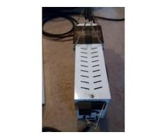 1000 watt metal halide/ High pressure sodium Ballast and hood