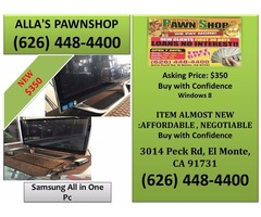 Alla's Pawn Shop Samsung All in One Pc