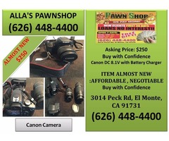 Alla's Pawn Shop Canon Camera | free-classifieds-usa.com